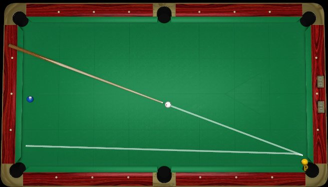 How To Play The Object Ball In Pocket Shot Virtual Pool - Pool table no pockets